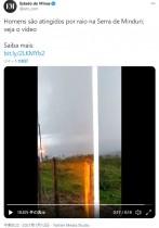 神について熱弁中の男性、落雷に遭うもほぼ無傷で「まさに神の奇跡」(ブラジル)<動画あり>