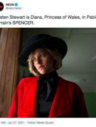 【イタすぎるセレブ達】クリステン・スチュワート扮するダイアナ妃が「激似」「完璧!」 新作映画に期待高まる