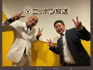 【エンタがビタミン♪】錦鯉・長谷川、昨年のライブで歯が吹っ飛ぶ 「お客さんの目に入ったら危ないことに」アクリル板に感謝
