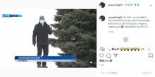 【海外発!Breaking News】生中継で雪の丘から滑り落ちたリポーター、最後までしゃべり続けるプロ根性が凄い(カナダ)<動画あり>