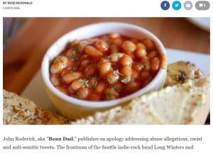 ジョンさんも娘もベイクドビーンズが大好きだという(画像は『Screen Rant 2021年1月6日付「Bean Dad Apologizes for Abusive Parenting Story, Racist & Anti-Semitic Tweets」』のスクリーンショット)