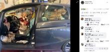 【海外発!Breaking News】天井までゴミが積もった汚すぎる車にドン引き「どうやって運転するの?」(米)