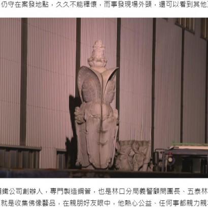 【海外発!Breaking News】仏像収集家の男性、重さ2トンの仏像の下敷きになり死亡(台湾)