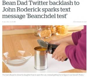 """【海外発!Breaking News】""""教育""""と称し、空腹の娘に6時間かけて自力で缶を開けさせた父親 「虐待だ」とトレンド入りするほどの大批判(米)"""