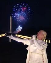【イタすぎるセレブ達】ケイティ・ペリー、大統領就任式後のコンサートで大トリ パフォーマンスにオーランド・ブルームも感涙