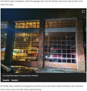 【海外発!Breaking News】消防署に駆け込むも「閉まっている」と言われ、高級車2台が灰に(南ア)