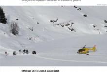 【海外発!Breaking News】プロポーズ直後の雪山で、女性が200メートル下に滑落も奇跡的に助かる(オーストリア)