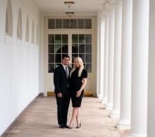 トランプ大統領の次女ティファニーさん、父の退任目前に婚約を発表