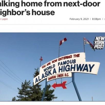 【海外発!Breaking News】マイナス40度の深夜に隣の家から帰宅しようとした68歳女性が死亡(カナダ)