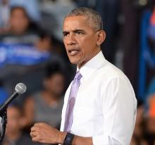 【イタすぎるセレブ達】オバマ元大統領、差別的用語を発した友人に「殴りかかった」中学時代のエピソード明かす