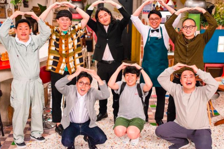 ゾフィー、ハナコ、ザ・マミィと(画像は『コント番組「東京 BABY BOYS 9」【公式】 2020年8月7日付Instagram「2週目いよいよ明日放送です!」』のスクリーンショット)