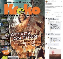 【海外発!Breaking News】マレーシア語版『進撃の巨人』に違和感 巨人がボクサーパンツ姿で登場<動画あり>