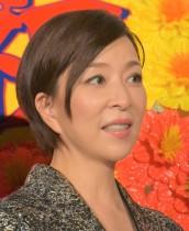 【エンタがビタミン♪】真矢ミキが大好きな宮本浩次ポーズ、久しぶりのパンツスーツで「さぁ~がんばろうぜぃ!」