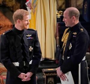 かつては一緒に公務を行っていたヘンリー王子とウィリアム王子(画像は『Duke and Duchess of Cambridge 2019年9月15日付Instagram「Wishing a very happy birthday to The Duke of Sussex today!」』のスクリーンショット)