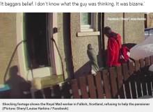 【海外発!Breaking News】転倒し動けない72歳女性を雪の中に放置した郵便配達員「俺はクタクタなんだ」(スコットランド)<動画あり>