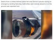 【海外発!Breaking News】上空で燃え盛る飛行機のエンジン、乗客「機内では聞きたくない爆発音だった」(米)<動画あり>