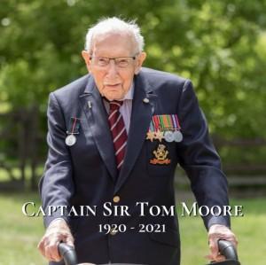【海外発!Breaking News】医療支援のトム・ムーアさん(100)が逝去 英エリザベス女王がプライベートな追悼文送る