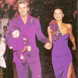 【イタすぎるセレブ達】デヴィッド&ヴィクトリア・ベッカム夫妻、21年前の結婚式の写真でバレンタインデーを祝福