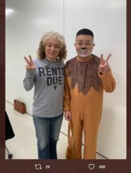 【エンタがビタミン♪】チョコプラ松尾、元クリキン田中昌之とは「親戚です」 約25年ぶりに再会し2人で「TT兄弟」に