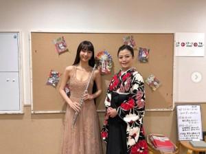 フルート奏者のCocomi(画像は『cocomi_553_official 2021年1月3日付Instagram「本日は、Bunkamuraオーチャードホールにて、東京フィルハーモニー交響楽団 ニューイヤー・コンサートに、参加させて頂きました。」』のスクリーンショット)