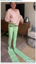 【海外発!Breaking News】これがお洒落らしい…ネットで人間用とは思えないズボンを7万円で購入してしまった女性(米)