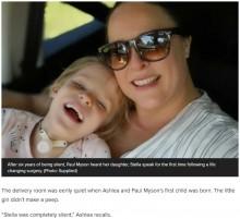 【海外発!Breaking News】手術を受けて初めて言葉を発した6歳女児 「娘の個性がどんどん出てきた」と母親(南ア)