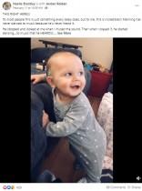 【海外発!Breaking News】初めて音楽を聴いてダンスする聴覚障がいの赤ちゃんに母は涙(米)<動画あり>