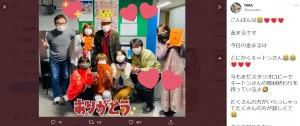 キートン山田の最後の収録を報告していたTARAKO(画像は『TARA 2021年2月26日付Twitter「こんばんは」』のスクリーンショット)