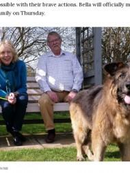 【海外発!Breaking News】重石に繋がれ川に捨てられた犬、保護され新しい家族の元へ 許されざる元飼い主ら有罪に(英)<動画あり>