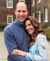 【イタすぎるセレブ達】ウィリアム王子&キャサリン妃、結婚10周年に記念写真公開 動画には「なんて素敵な家族」の声も