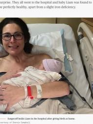 【海外発!Breaking News】陣痛と気付かずトイレに駆け込んだ女性、婚約者が便器の中から赤ちゃんを救う(米)