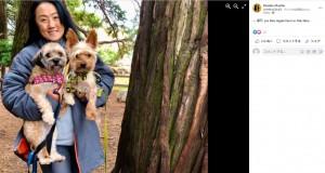 【海外発!Breaking News】家に侵入した野生のクマ 小さくて優秀な番犬2匹に威嚇されて走り去る(米)<動画あり>