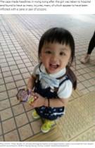 両親からの虐待を絵に描いていた 5歳女児の死に「防ぐことができたはず」怒りの声(香港)