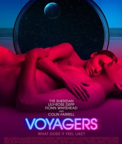 リリー・ローズ・デップが出演した映画『Voyagers』(画像は『Lily-Rose Depp 2021年3月1日付Instagram「Voyagers」』のスクリーンショット)