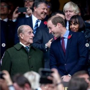 【イタすぎるセレブ達】ウィリアム王子、フィリップ王配への追悼文を発表「楽しい時も辛い時もそこにいてくれた」