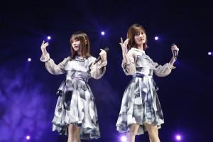 『乃木坂46 9th YEAR BIRTHDAY LIVE ~3期生ライブ~』での与田祐希と山下美月