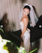【イタすぎるセレブ達】アリアナ・グランデ、秘蔵挙式写真を初公開 美しすぎるウェディングドレス姿に2400万件超の「いいね!」