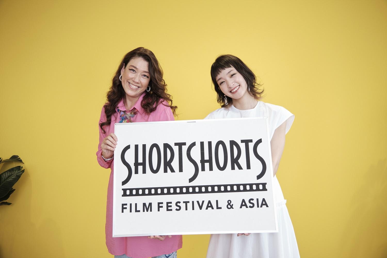 『ショートショート フィルムフェスティバル & アジア2021 「Ladies for Cinema Project」オンライン発表会』にてLiLiCoと剛力彩芽
