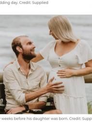 【海外発!Breaking News】娘が誕生する4週間前に脳腫瘍で逝った父「決してあきらめてはいけないよ。夢を追いかけて生きるんだ」(豪)