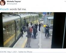少年グループに絡まれた女性、電車とホームの間に転落 衝撃の映像に怒りの声(アイルランド)<動画あり>