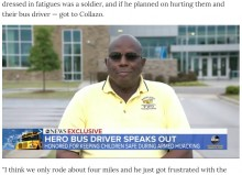 【海外発!Breaking News】スクールバスを乗っ取った男、子ども達の質問攻めにお手上げ(米)<動画あり>