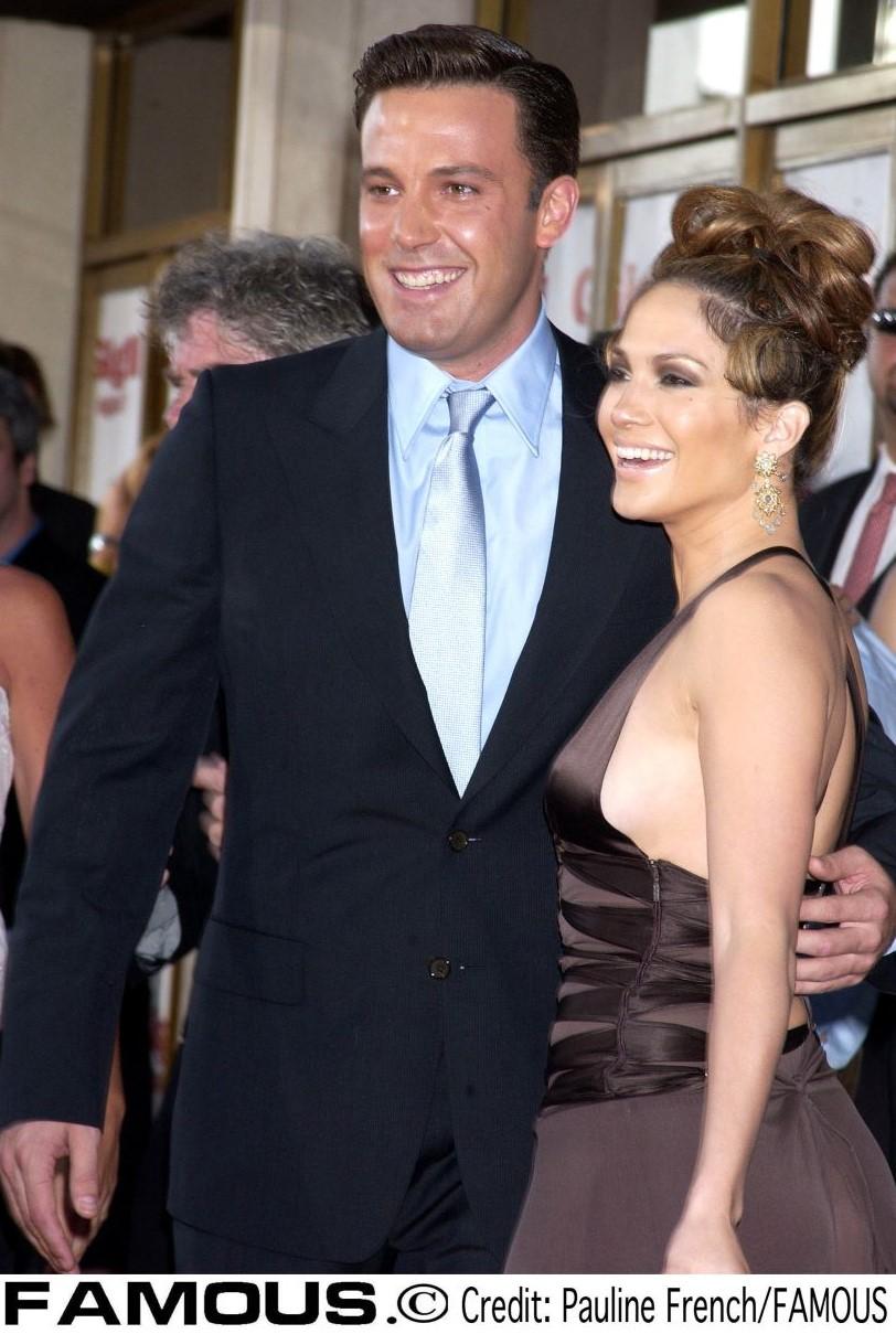 2003年、婚約していた頃のベン・アフレック&ジェニファー・ロペス