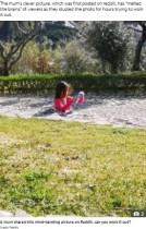 コンクリートに埋もれる少女、難解な視覚イリュージョンに「いったい何が?」(米)