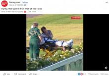 【海外発!Breaking News】「最期に競馬を見たい」救急隊と騎手が夢を叶えた58歳男性、2日後に亡くなる(豪)<動画あり>