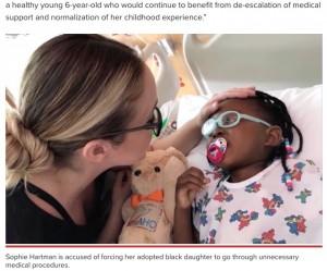 【海外発!Breaking News】アフリカから迎えた養女に474回もの不要な手術や治療を受けさせた養母、虐待の容疑で起訴される(米)