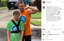 【海外発!Breaking News】14歳少年、同じダウン症の鉄人にインスパイアされトライアスロンに挑戦(米)<動画あり>