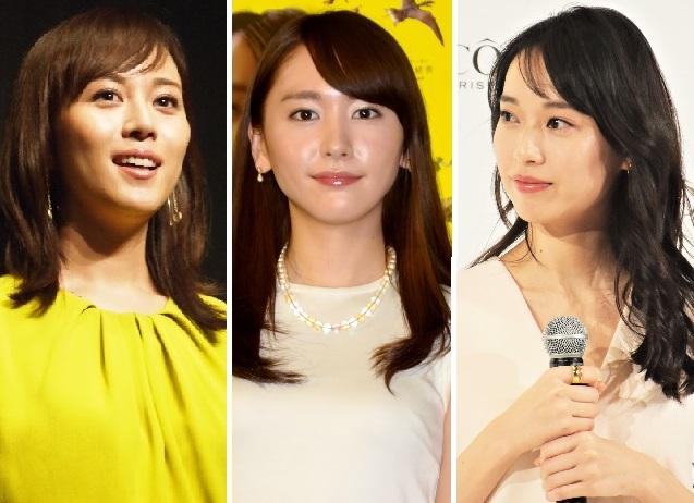 『コード・ブルー』でメインキャストだった比嘉愛未、新垣結衣、戸田恵梨香