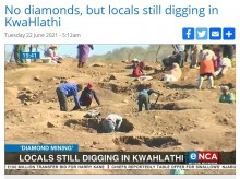 【海外発!Breaking News】ダイヤモンドラッシュの夢消える 発掘されたのは水晶だった それでも掘り続ける人々(南ア)<動画あり>
