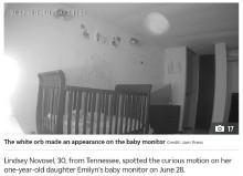【海外発!Breaking News】子供部屋に現れる謎の光、前住人が死去していたことが明らかに(米)<動画あり>