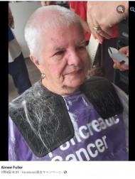 【海外発!Breaking News】寄付のため伸ばした髪をカットした82歳女性 「白髪だから」と慈善団体に断られる(英)